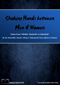 Shaking Hands between Men and women